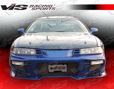 VIS Racing - Honda Prelude VIS Racing Invader-2 Front Bumper - 92HDPRE2DINV2-001