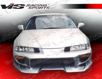 VIS Racing - Honda Prelude VIS Racing Invader-4 Front Bumper - 92HDPRE2DINV4-001