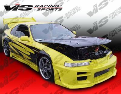 VIS Racing - Honda Prelude VIS Racing Octane Front Bumper - 92HDPRE2DOCT-001