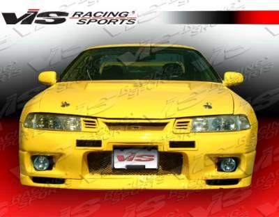 VIS Racing - Honda Prelude VIS Racing Omega Front Bumper - 92HDPRE2DOMA-001