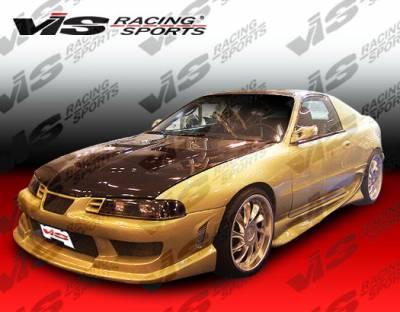 VIS Racing - Honda Prelude VIS Racing Striker Front Bumper - 92HDPRE2DSTR-001