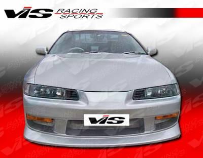 VIS Racing - Honda Prelude VIS Racing V Speed Front Bumper - 92HDPRE2DVSP-001