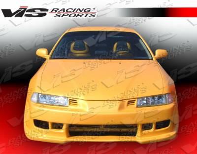 VIS Racing - Honda Prelude VIS Racing Z1 boxer Front Bumper - 92HDPRE2DZ1-001