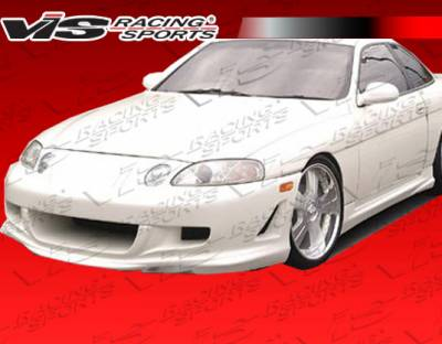 VIS Racing - Lexus SC VIS Racing Invader 2 Front Bumper - 92LXSC32DINV2-001