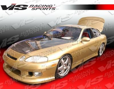 VIS Racing - Lexus SC VIS Racing V Speed Front Bumper - 92LXSC32DVSP-001