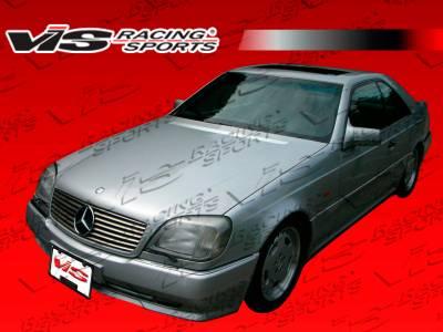 VIS Racing - Mercedes-Benz S Class VIS Racing Euro Tech Front Bumper - 92MEW1402DET-001