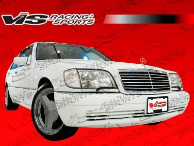 VIS Racing - Mercedes-Benz S Class VIS Racing Laser Front Bumper - 92MEW1404DLS-001