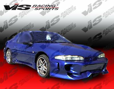 VIS Racing - Mitsubishi Eclipse VIS Racing Invader Front Bumper - 92MTECL2DINV-001
