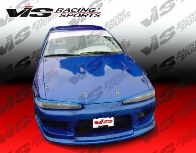 VIS Racing - Mitsubishi Eclipse VIS Racing Striker Front Bumper - 92MTECL2DSTR-001