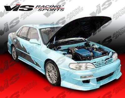 VIS Racing - Toyota Camry VIS Racing Cyber-1 Front Bumper - 92TYCAM4DCY1-001
