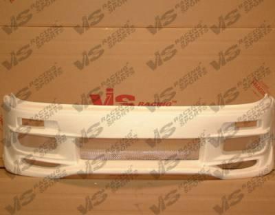 VIS Racing. - Toyota Camry VIS Racing Cyber-2 Front Bumper - 92TYCAM4DCY2-001