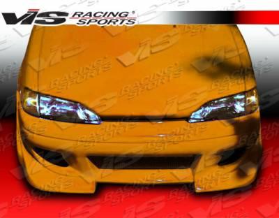 VIS Racing - Toyota Paseo VIS Racing Battle Z Front Bumper - 92TYPAS2DBZ-001
