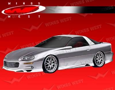 VIS Racing - Chevrolet Camaro VIS Racing JPC Front Lip - Polyurethane - 93CHCAM2DJPC-011P