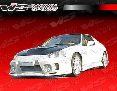 VIS Racing - Honda Del Sol VIS Racing EVO-5 Front Bumper - 93HDDEL2DEVO5-001
