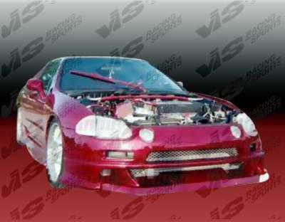 VIS Racing - Honda Del Sol VIS Racing Xtreme Front Bumper - 93HDDEL2DEX-001