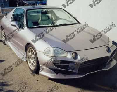 VIS Racing - Honda Del Sol VIS Racing Invader Front Bumper - 93HDDEL2DINV-001