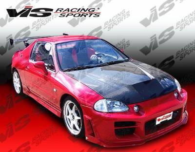 VIS Racing - Honda Del Sol VIS Racing Octane Front Bumper - 93HDDEL2DOCT-001