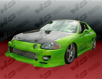 VIS Racing - Honda Del Sol VIS Racing Strada F1 Front Bumper - 93HDDEL2DSF1-001