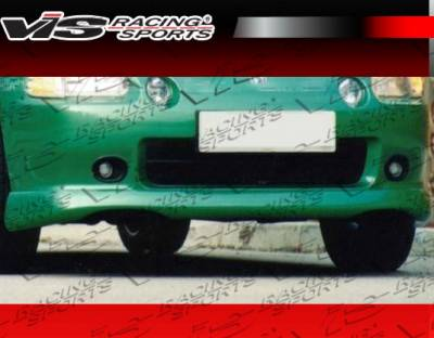VIS Racing - Honda Del Sol VIS Racing Techno R-2 Front Lip - 93HDDEL2DTNR2-011