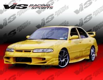 VIS Racing - Mazda 626 VIS Racing Invader Front Bumper - 93MZ6264DINV-001