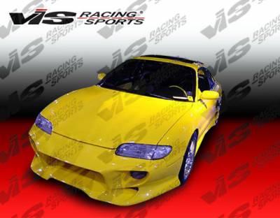 VIS Racing - Mazda MX6 VIS Racing Invader Front Bumper - 93MZMX62DINV-001