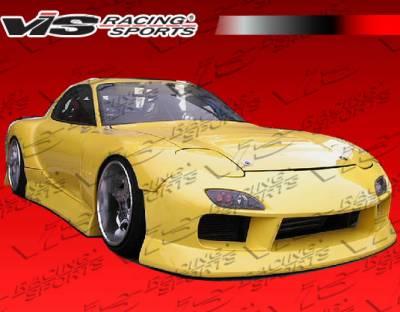 VIS Racing. - Mazda RX-7 VIS Racing B Speed Widebody Front Bumper - 93MZRX72DBSPWB-001