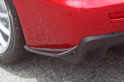 Chargespeed - Mitsubishi Lancer Chargespeed Bottom Line Rear Caps