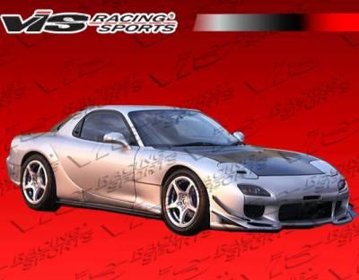 VIS Racing - Mazda RX-7 VIS Racing Fuzion Front Bumper - 93MZRX72DFUZ-001