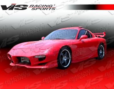 VIS Racing - Mazda RX-7 VIS Racing Invader Front Bumper - 93MZRX72DINV-001