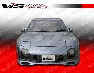 VIS Racing - Mazda RX-7 VIS Racing RE-2 Front Bumper - 93MZRX72DRE2-001