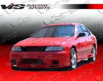 VIS Racing - Nissan Altima VIS Racing Omega Front Bumper - 93NSALT4DOMA-001