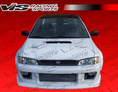 VIS Racing - Subaru Impreza VIS Racing Z Speed Front Bumper - 93SBIMP4DZSP-001