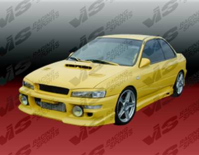VIS Racing - Subaru Impreza VIS Racing Zyclone-2 Front Bumper - 93SBIMP4DZYC-001