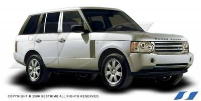 SES Trim - Land Rover Range Rover SES Trim Pillar Post - 304 Mirror Shine Stainless Steel - 6PC - P164