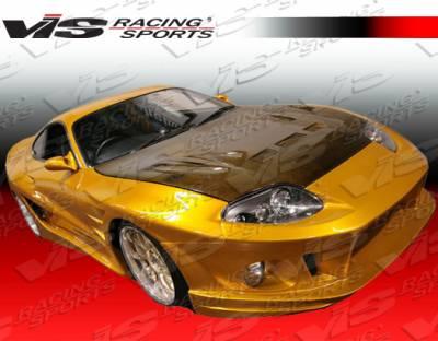 VIS Racing - Toyota Supra VIS Racing Alfa Widebody Front Bumper - 93TYSUP2DALFWB-001