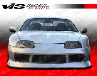 VIS Racing - Toyota Supra VIS Racing B Speed Front Bumper - 93TYSUP2DBSP-001