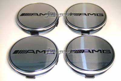 Custom - AMG Chrome Wheel Caps