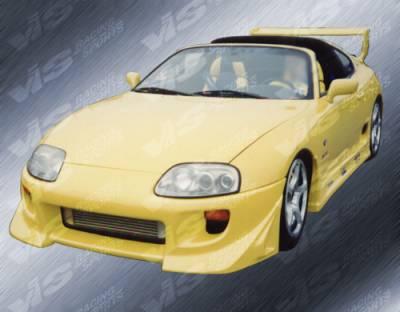 VIS Racing - Toyota Supra VIS Racing Battle Z Front Bumper - 93TYSUP2DBZ-001