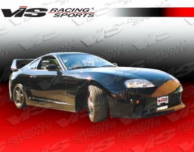 VIS Racing - Toyota Supra VIS Racing Battle GT Front Bumper - 93TYSUP2DBZGT-001