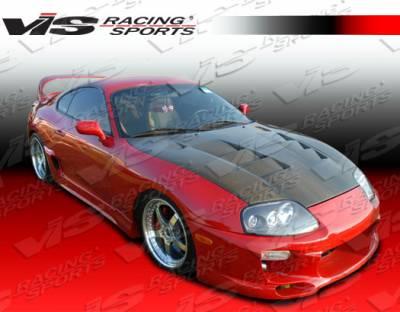 VIS Racing. - Toyota Supra VIS Racing Fuzion Front Bumper - 93TYSUP2DFUZ-001