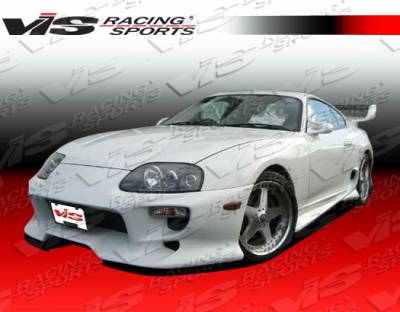 VIS Racing - Toyota Supra VIS Racing Invader-1 Front Bumper - 93TYSUP2DINV1-001