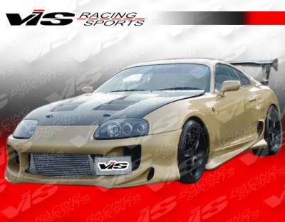 VIS Racing - Toyota Supra VIS Racing Stallion Front Bumper - 93TYSUP2DSTA-001