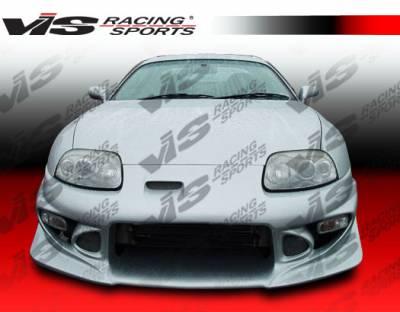 VIS Racing - Toyota Supra VIS Racing Tracer Front Bumper - 93TYSUP2DTRA-001