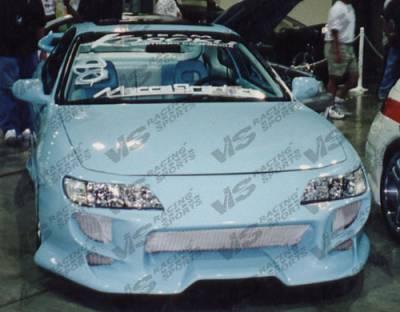 VIS Racing - Acura Integra 2DR VIS Racing CL Invader Front Bumper - 94ACINT2DCINV-001