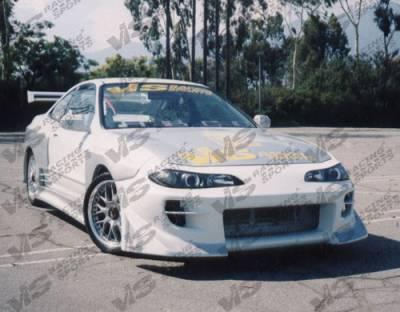 VIS Racing - Acura Integra 2DR VIS Racing S15 Battle Z Front Bumper - 94ACINT2DS15BZ-001