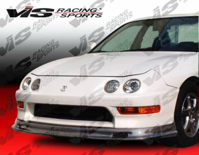 VIS Racing - Acura Integra VIS Racing Type-S Carbon Fiber Lip - 94ACINT2DSPN-011C