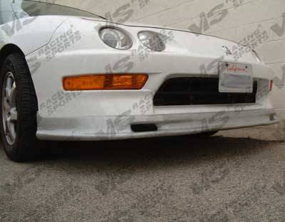 VIS Racing - Acura Integra VIS Racing Type-S Silver Carbon Fiber Lip - 94ACINT2DSPN-011S