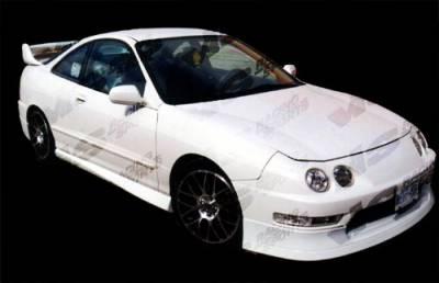 VIS Racing - Acura Integra VIS Racing Techno R Front Lip - 94ACINT2DTNR-011