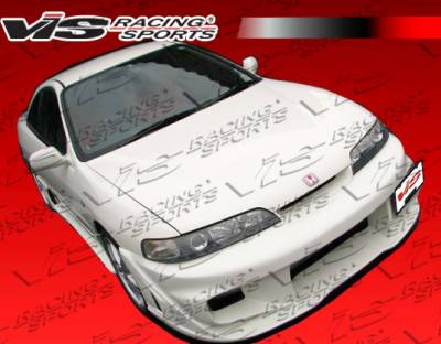 VIS Racing - Acura Integra VIS Racing Wave Front Bumper - 94ACINT2DWAV-001