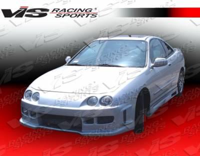 VIS Racing - Acura Integra VIS Racing Z1 boxer Front Bumper - 94ACINT2DZ1-001